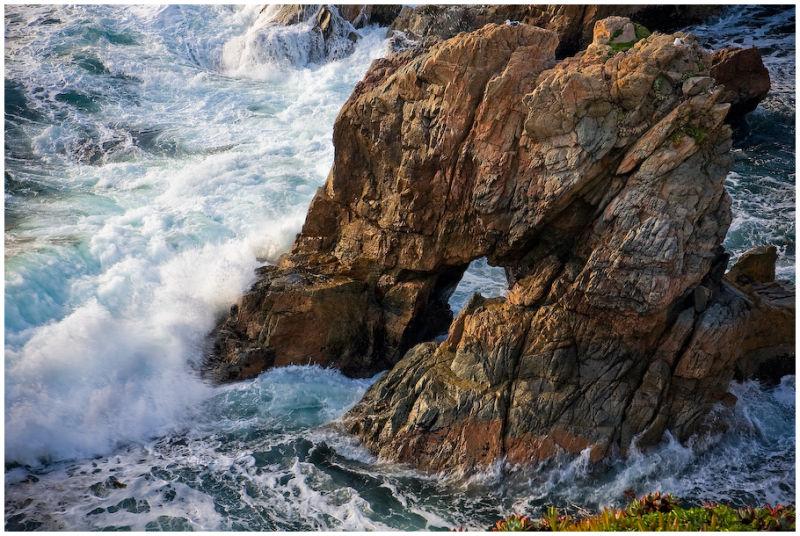 Window Rock Garrapata BIg Sur