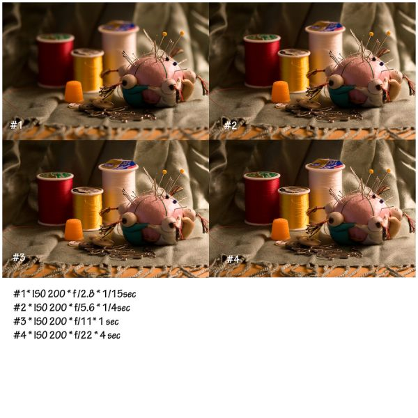 lesson on aperture and shutter speed