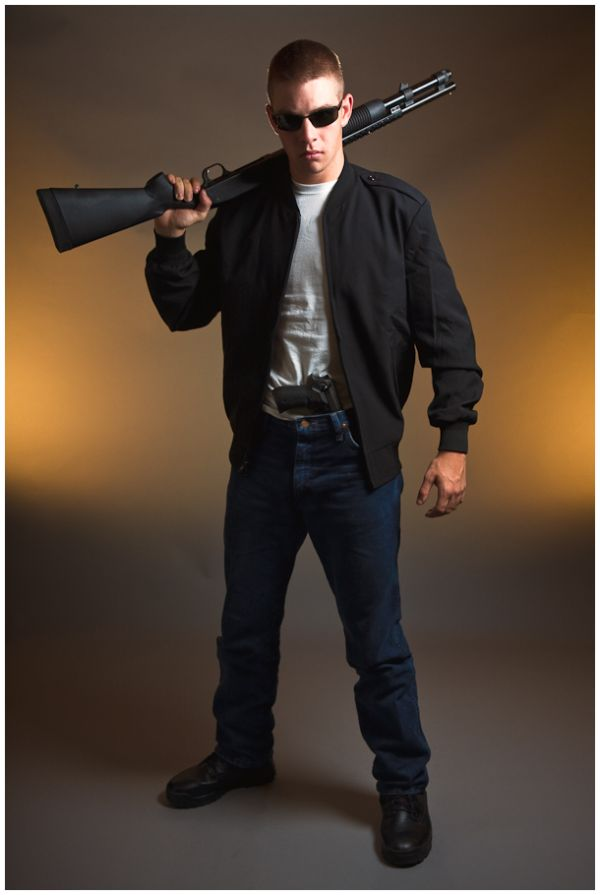 Devon as Rambo
