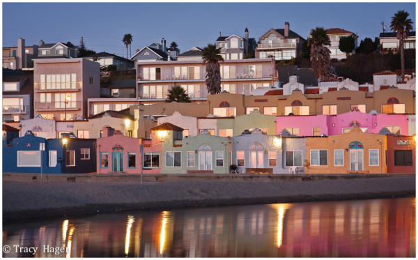 Capitola Moonset-Well almost!