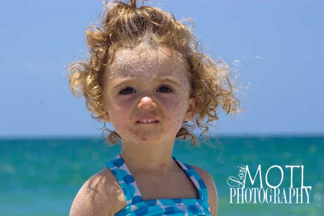 Pixie on the beach
