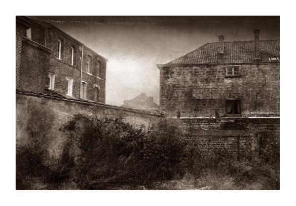 photomontage vieilles maisons
