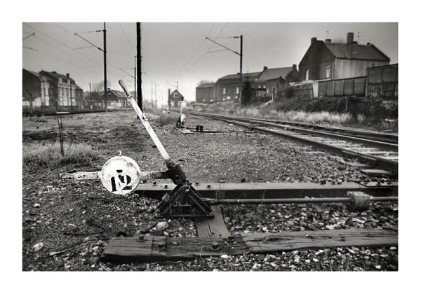 Aniche gare voie ferrée aiguillage