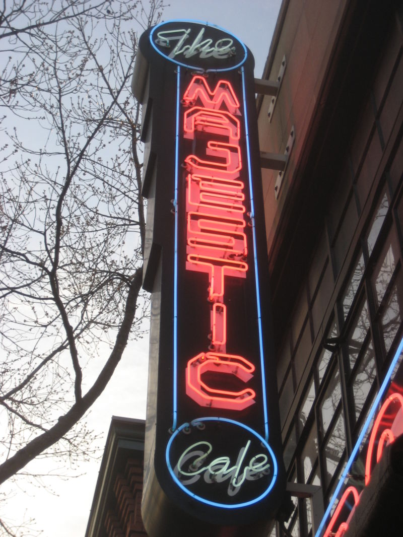 Theater turned restaurant, 3.31.09