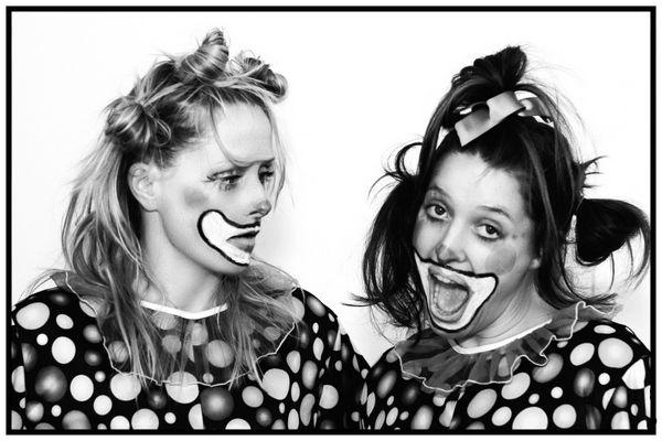 Clowns BW