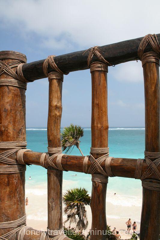 beach, palm trees, mexico, maya riviera