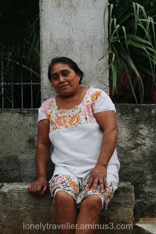 woman, mexican, mayan, valladoid