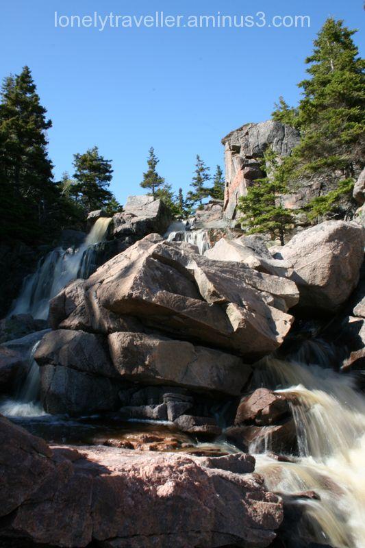 Black Brooks Beach Waterfall II