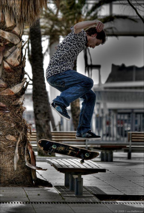 Skater in Barcelona