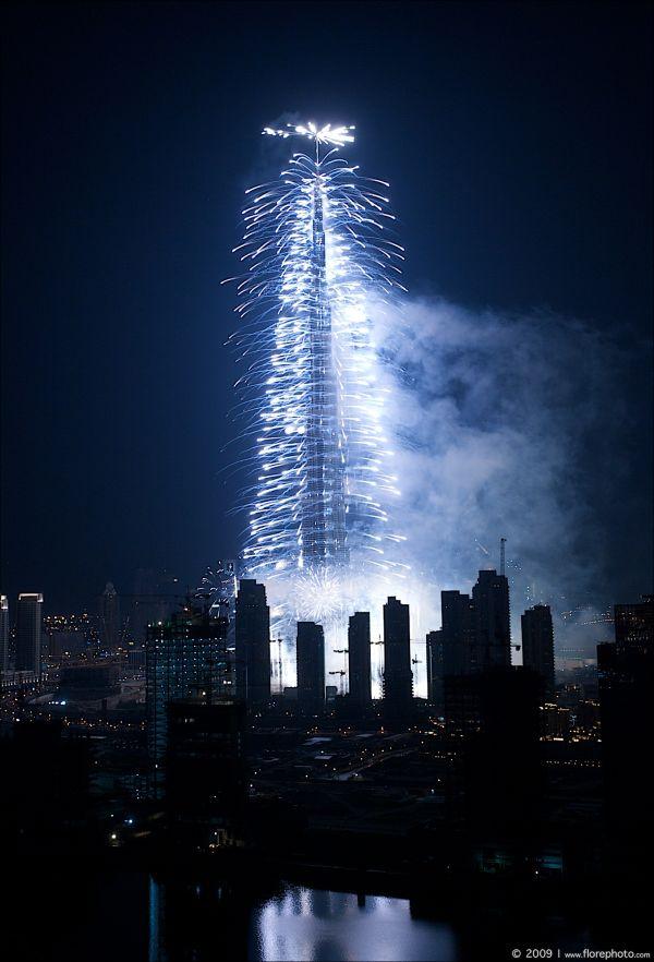 Burj Khalia Opening in Dubai