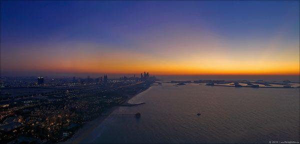 Dubai at Sunset