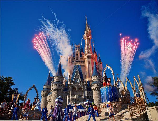 Disneyworld Magic Kingdom, Orlando, Florida