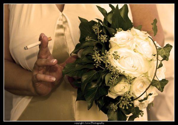 cigarette, wedding