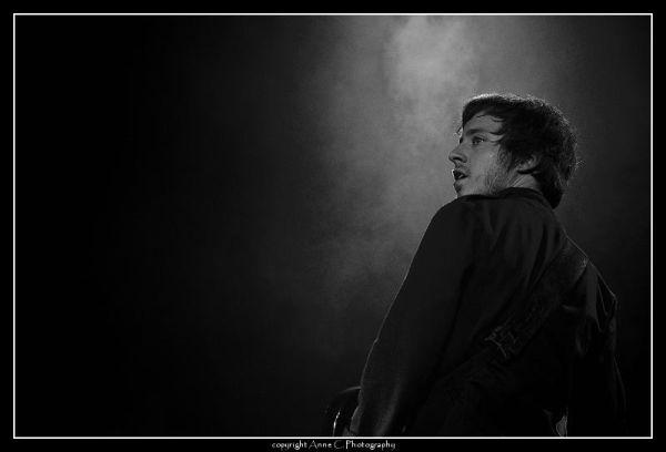 Stevans, N/B, Vernier sur Rock, Live, portrait, Mu