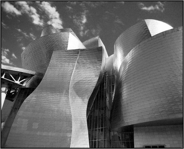 Museo Guggenheim, Bilbao - España (ByN)