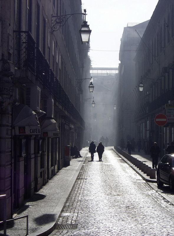 Street & Fog