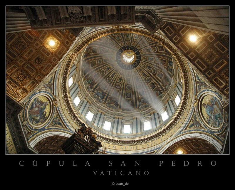 Cúpula de San Pedro, Vaticano