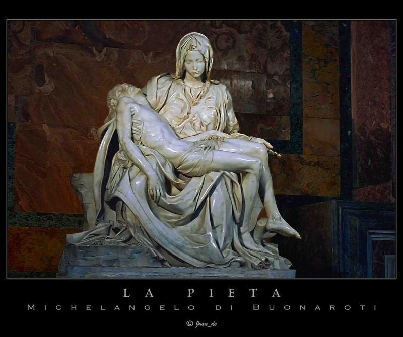 La Pietá, Miguel Angel