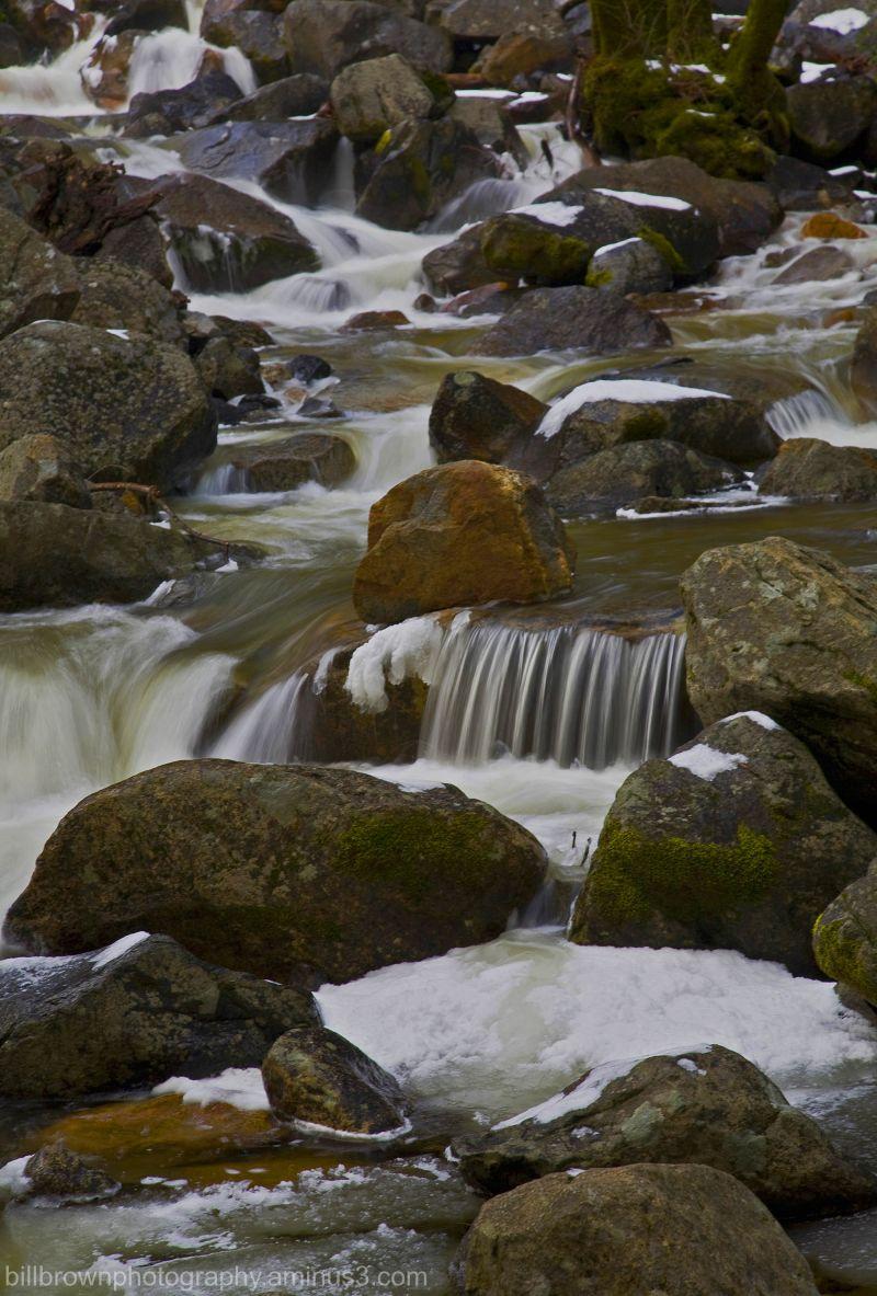 Water Cascade, Bridalveil Creek