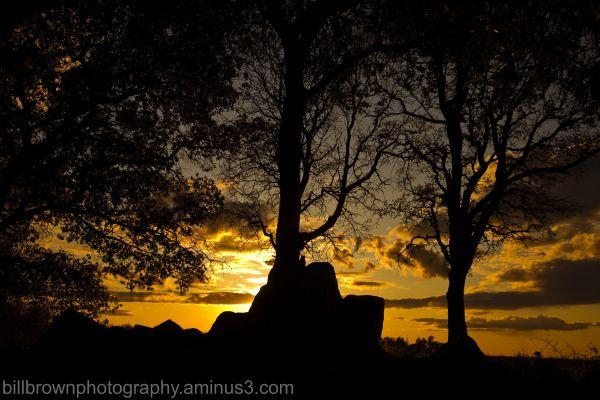 Folsom Lake Sunset 3-22