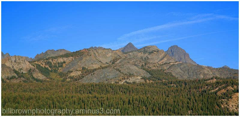 High Sierra Mountain Range