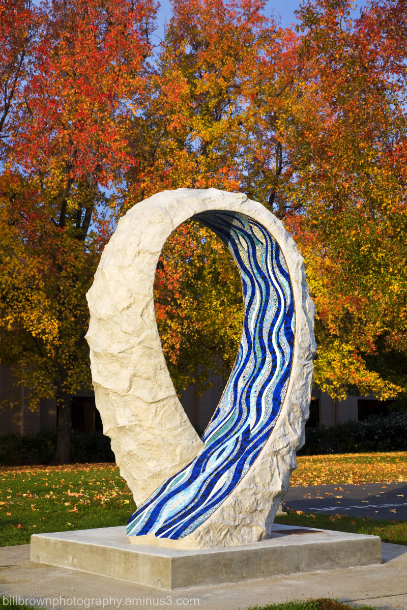 Folsom Sculpture/Autumn Color
