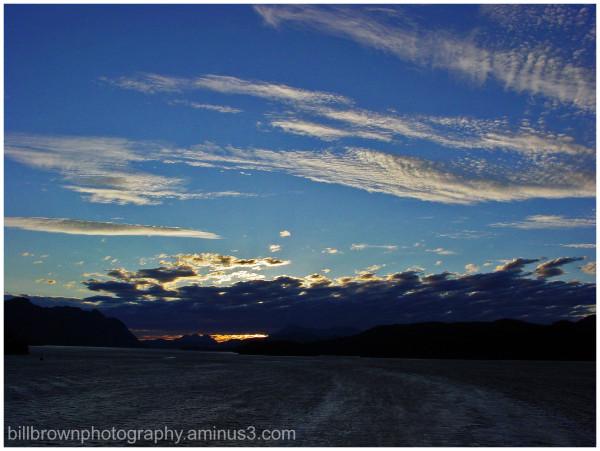 Alaska Sunset No. 1