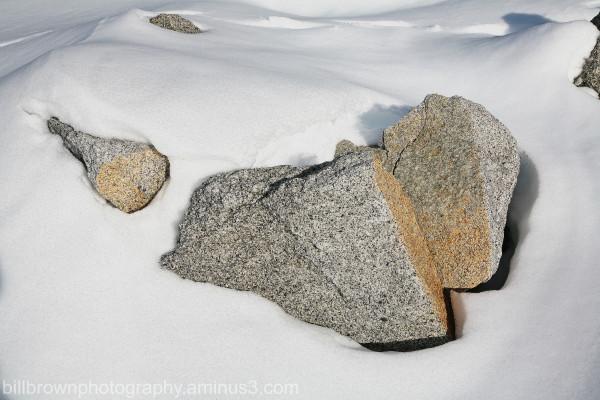 Snow and Rocks