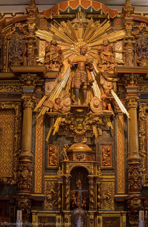 San Fernando Rey de España - Reredos Detail