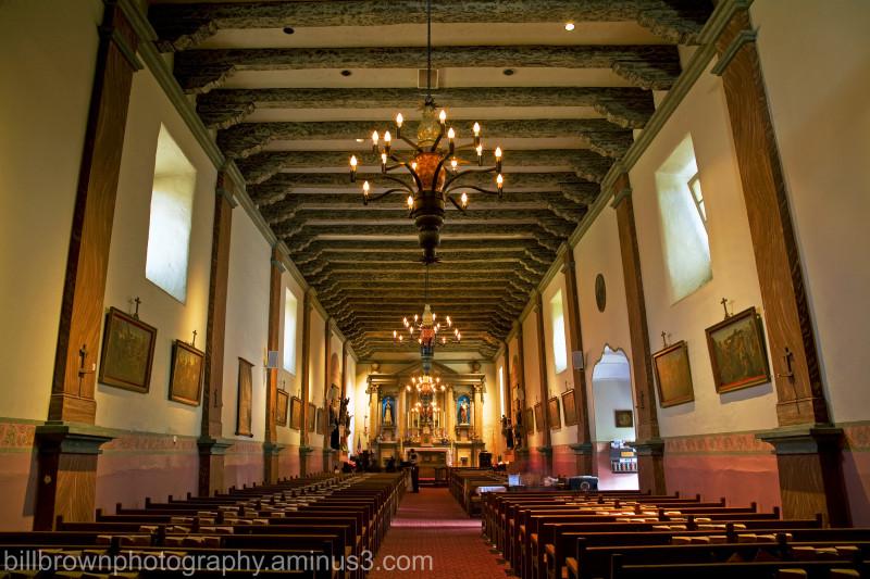 Mission San Buenaventura - Interior