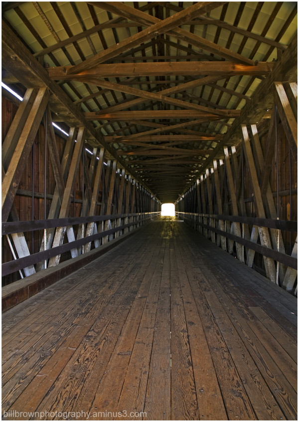 Knights Ferry Covered Bridge   Photo 3