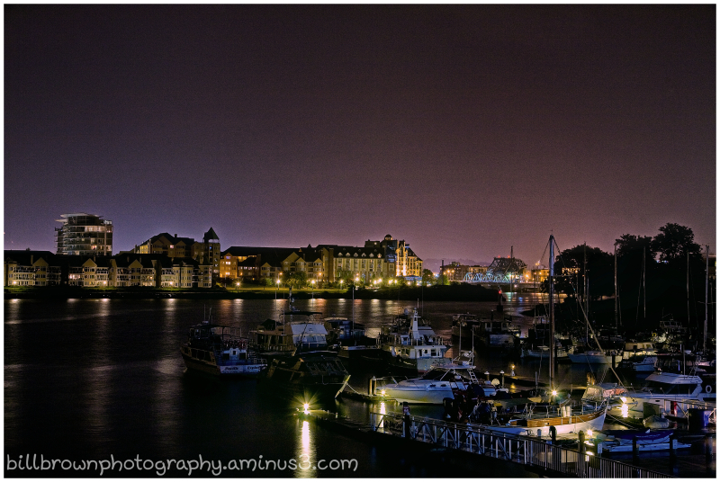 Victoria Harbour Nightscape - Color