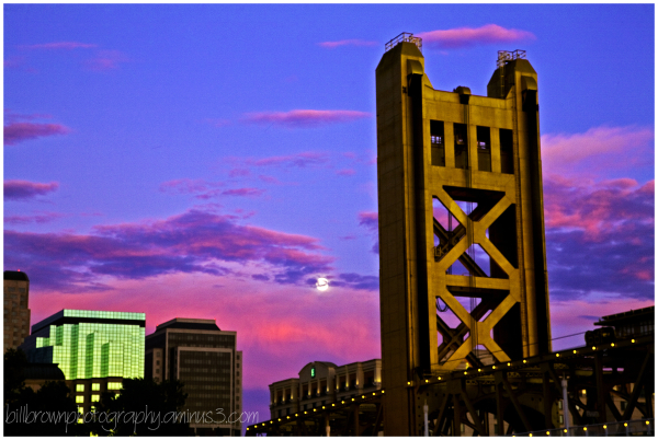 Moonrise Sacramento