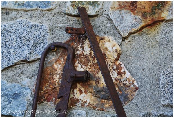 Iron & Stone Wall