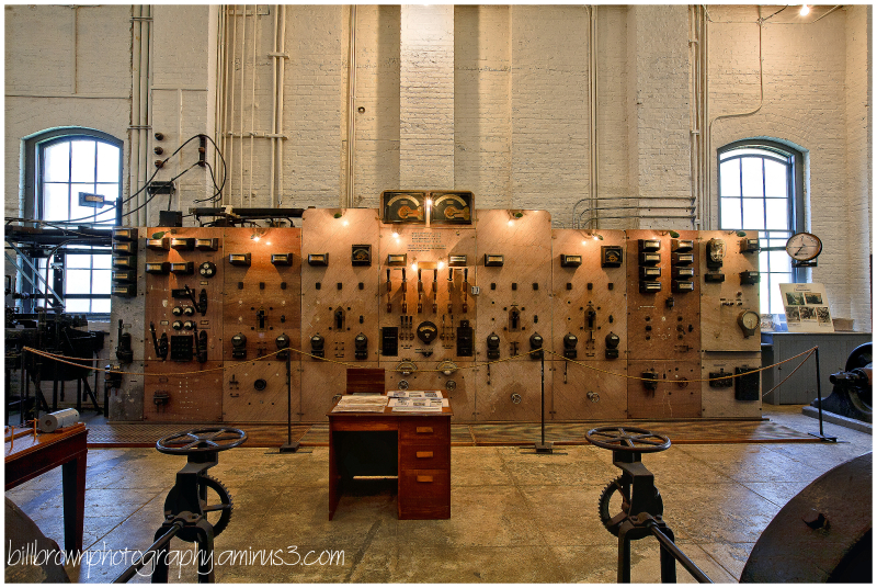 Folsom Powerhouse Control Panel