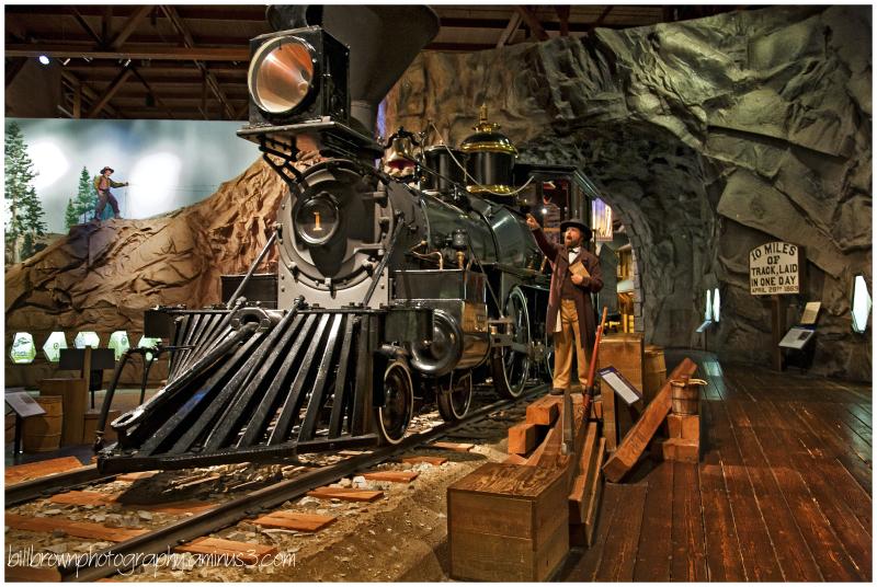 Central Pacific Railroad No. 1 - Gov. Stanford