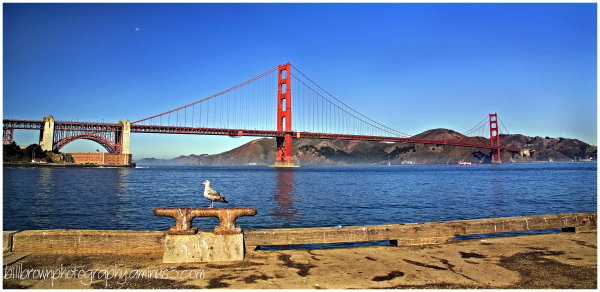 Golden Gate Bridge Pano
