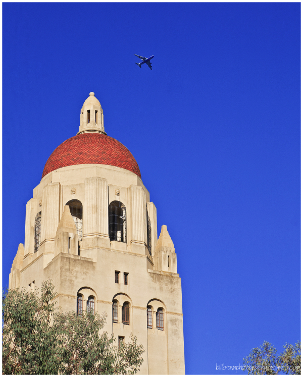 Hoover Tower Flyby