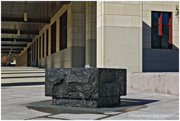 Fountain - Stanford Engineering Bldg.