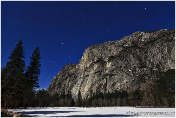 Star Trails - Yosemite Valley