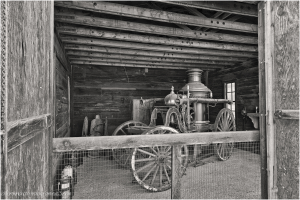 Calico Ghost Town Fire House