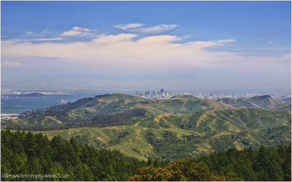 San Francisco from Mt. Tam