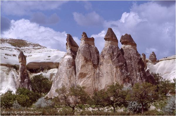 Hoodoos of Cappadocia, Turkey - 4 of 6