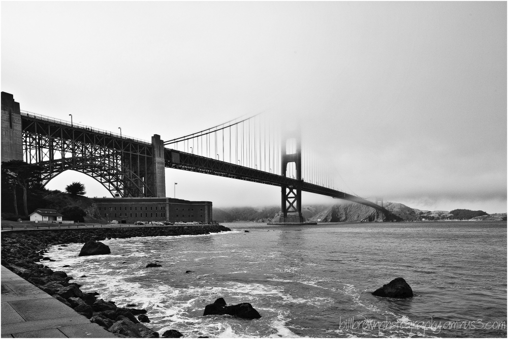 The Golden Gate and Fog