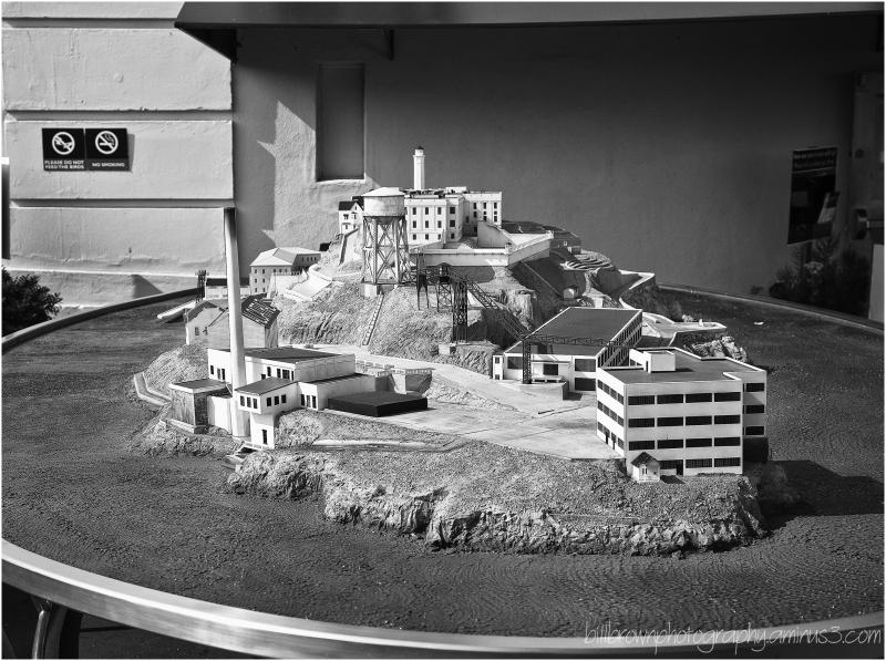 Alcatraz Model Display