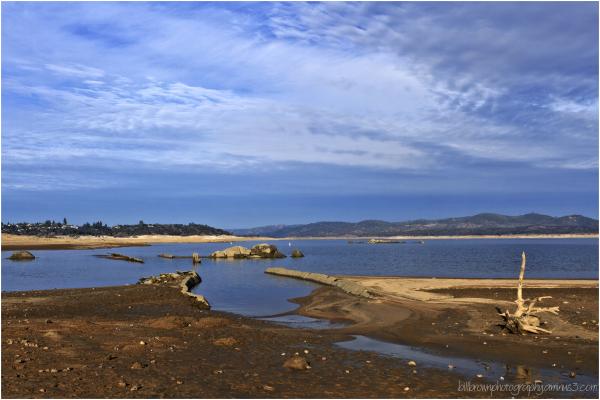 Folsom Lake before the Rain - #4