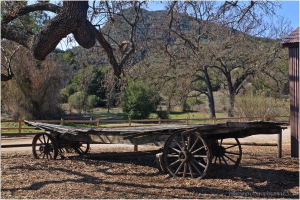 Wagon, Paramount Ranch