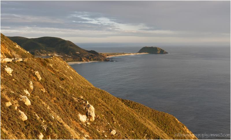 Point Sur Lighthouse - Hurricane Point