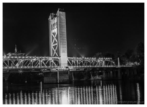 Sacramento Tower Bridge   West Tower