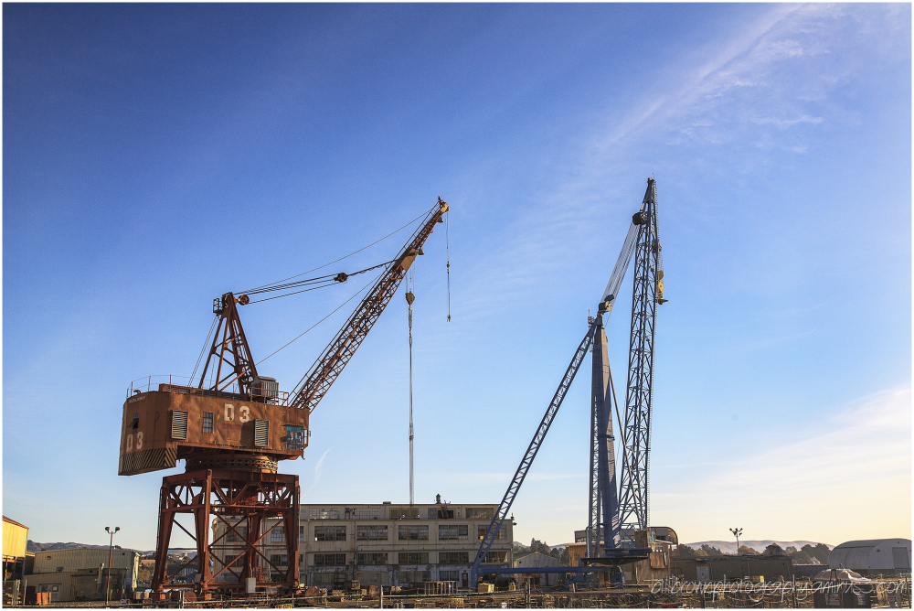 Mare Island Naval Shipyard - Crane D3